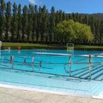 Piscina exterior de Berriozar, en las instalaciones del polideportivo. (BERRIKILAN)